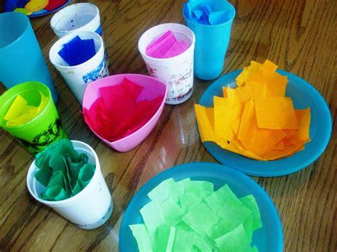 tissue paper easter crafts tissue paper easter egg craft mommysavers