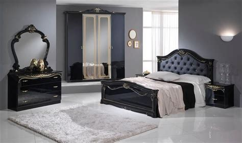 black gloss bedroom furniture sets stylish black italian high gloss bedroom furniture