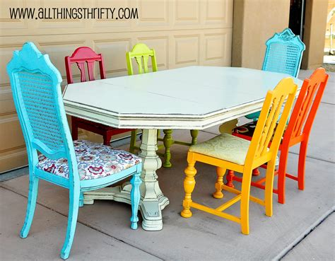 spray painting dining room chairs a furniture spray painting bring a can of spray