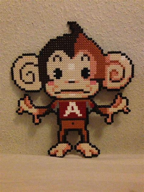 bead monkey 17 best images about monkey on perler bead