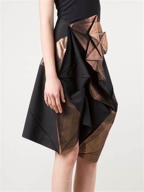origami mini skirt 25 best ideas about issey miyake on origami