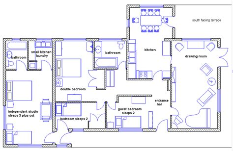 house drawing plan goongillings orchard accommodation
