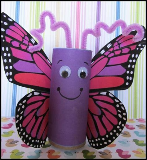 craft toilet paper rolls 1000 images about hmyz on butterfly crafts