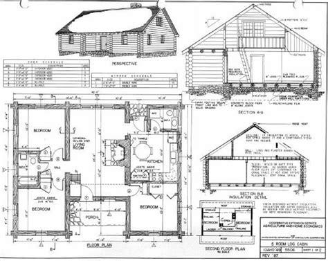 design blueprints for free log home plans 40 totally free diy log cabin floor plans