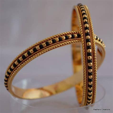 black bead buy black bead bangle 2