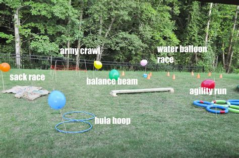 how to make a pool in your backyard how to create a backyard obstacle course for your
