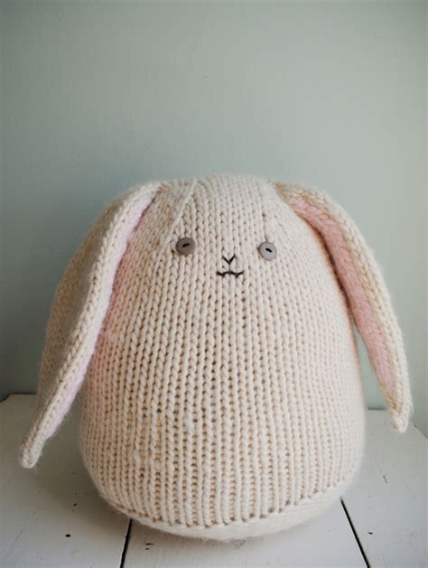 how to knit a bunny bunny rabbit knitting patterns in the loop knitting