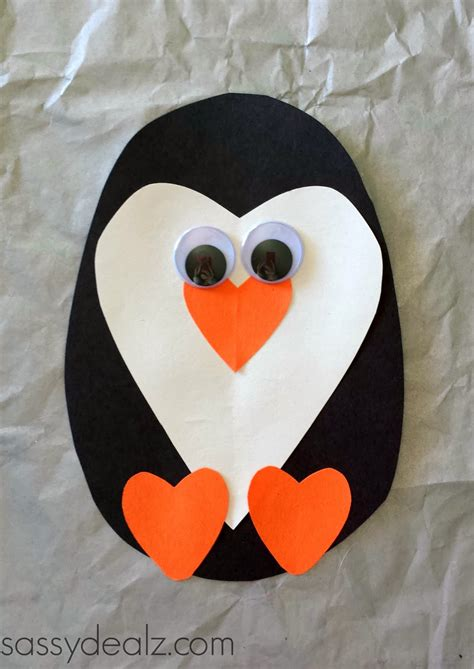 Paper Penguin Craft For Crafty Morning
