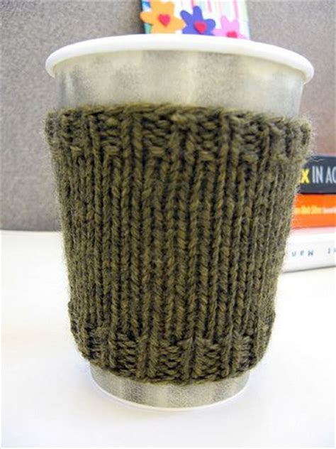 free knitting pattern coffee cup sleeve coffee cozy coffee and knits on