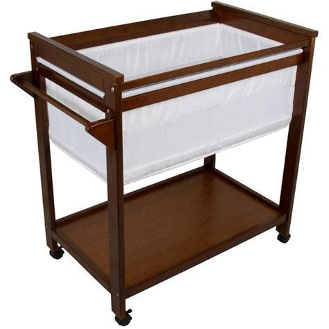baby cribs bassinets bebe care wooden baby bassinet crib in walnut buy baby