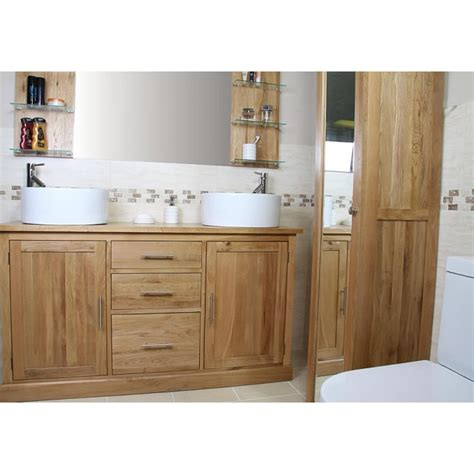 large bathroom vanity units atla large bathroom vanity unit click oak