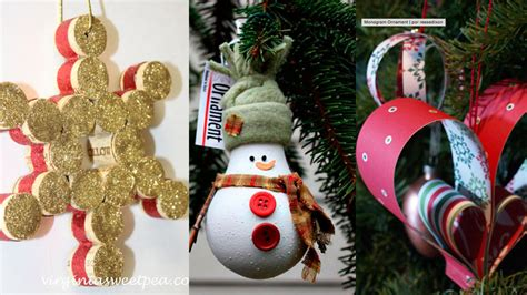 manualidades para arbol de navidad cinco manualidades f 225 ciles para decorar el 225 rbol de