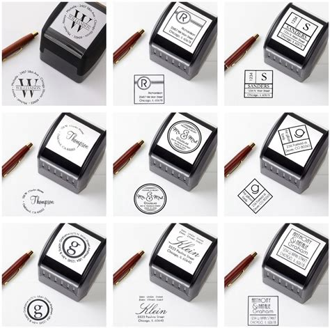 rubber sts logo custom self inking sts 100 images personalised sts for