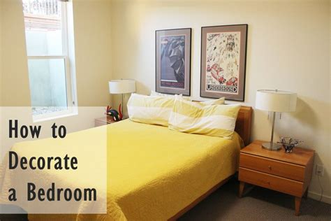 decorating a bedroom how to decorate a bedroom simply and with style