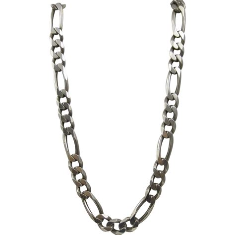 sterling silver chain for jewelry vintage heavy sterling silver chain necklace italy sold on