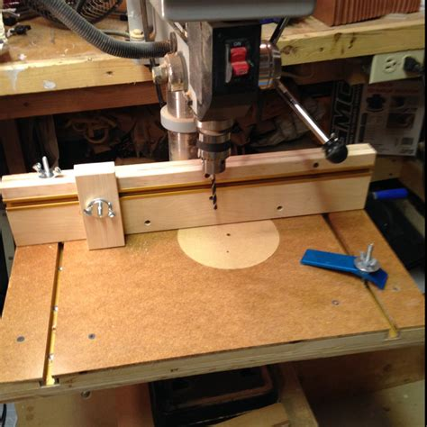 woodworking drill press table drill press table finewoodworking