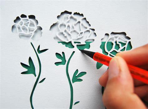 paper cutting craft tutorial make stunning papercut wedding invitations