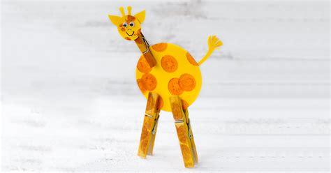 giraffe craft for easy giraffe craft for
