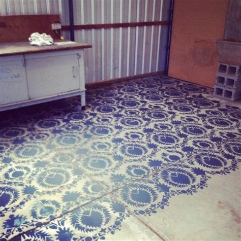 chalk paint adelaide stencilling cement floors with chalk paint industrial