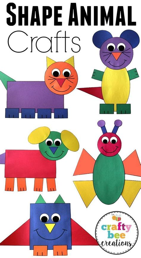 preschool for 98 best preschool shapes and shape crafts images on