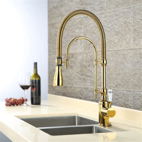 gold kitchen faucet popular gold kitchen faucets buy cheap gold kitchen
