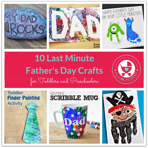 crafts for for fathers day 10 last minute s day crafts for toddlers and