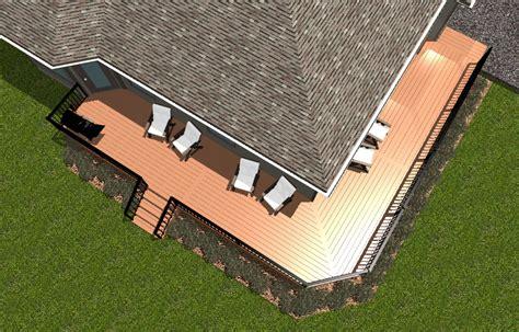 wrap around deck plans wrap around deck plans 28 images composite decking