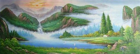 bob ross painting exles mountains style of bob ross painting in for sale