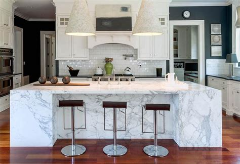 marble kitchen islands marble slab kitchen island transitional kitchen