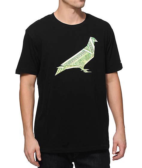 tshirt origami staple origami pigeon t shirt zumiez