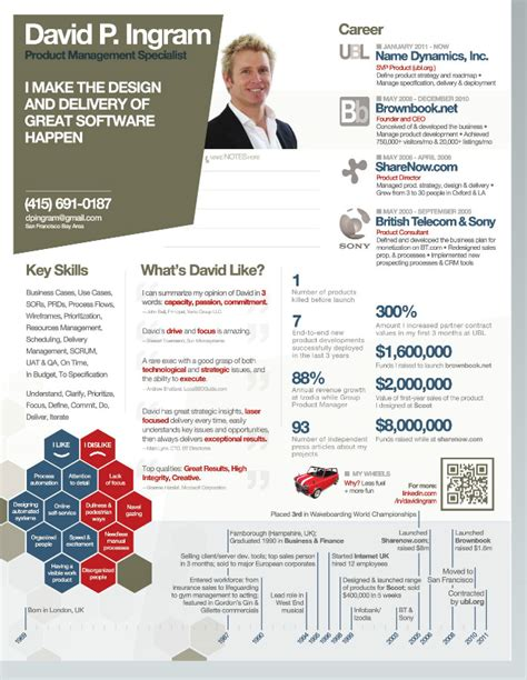 resume infographic generator the ultimate guide to infographic resumes