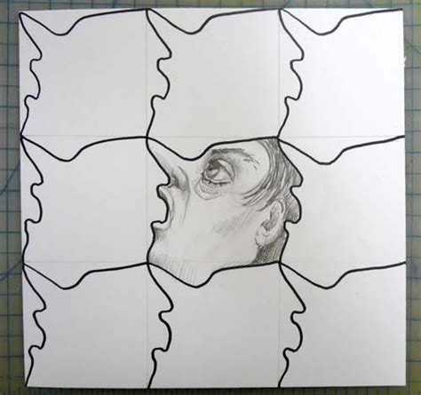 how to make a tessellation with an index card how to do simple tesselations masterpiece
