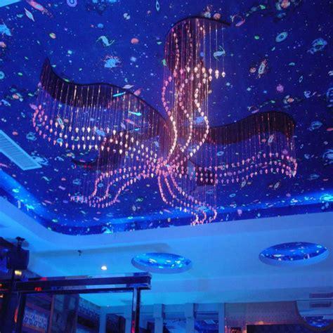 plastique optial led moderne du lustre en fibre optique lumi 232 re multicolore d 233 coration lustre