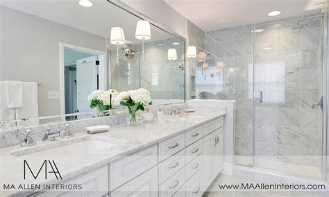 White Bathroom Cabinet Ideas by White Marble Bathrooms White Master Bathroom Ideas Master