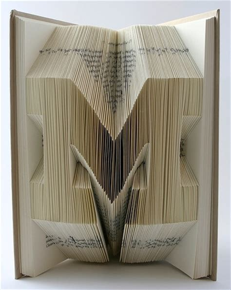 book folding origami book origami typography the ultimate inspiration bit rebels
