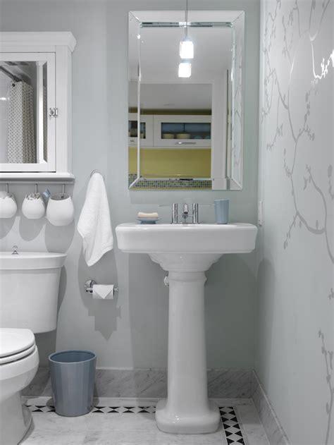 decorative ideas for small bathrooms small bathroom decorating ideas hgtv