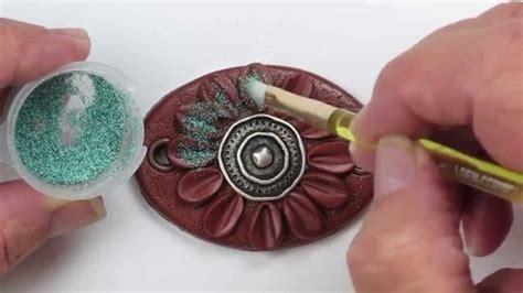 polymer clay tutorial polymer clay tutorial southwestern faux enamel bracelet pt