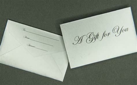 cards and envelopes for card mini gift card envelope a gift for you silver archives