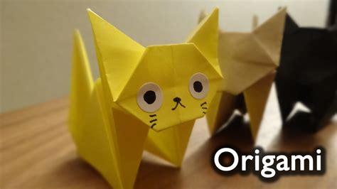 origami neko origami cat neko 折り紙 ねこ 折り方