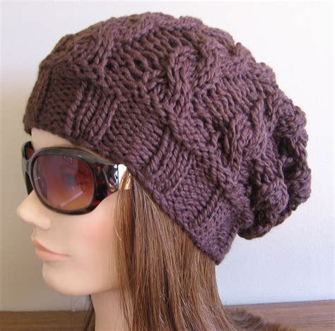 patterns for knitted hats slouch hats tag hats