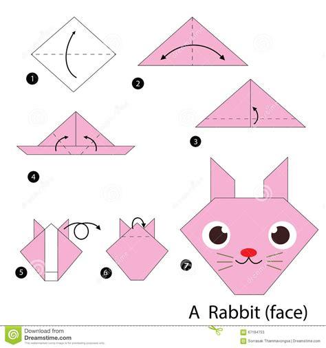 how to make an origami bunny easy origami animals rabbit comot