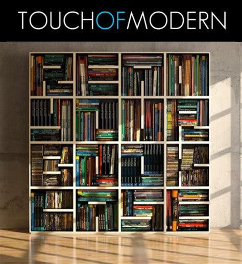picture of books on shelf alphabet bookcase touch of modern flash sale site