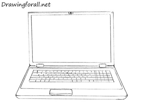 drawing on computer how to draw a laptop drawingforall net