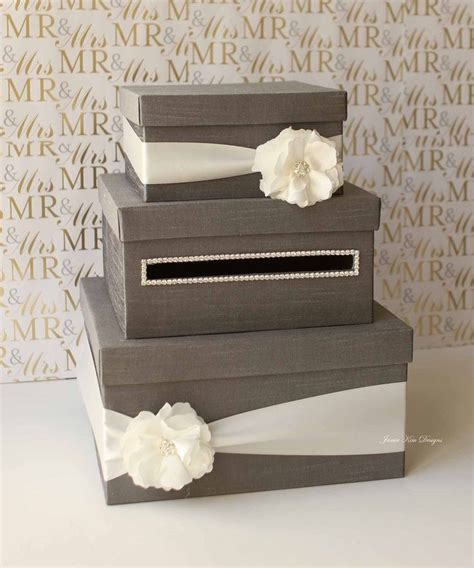 how to make a wedding card holder best 25 wedding card boxes ideas on diy