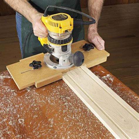 woodwork jigs right on the money fluting jig woodworking plan from wood