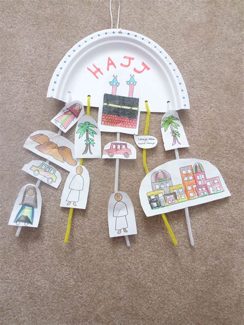 islamic arts and crafts for hajj craft muslim learning garden