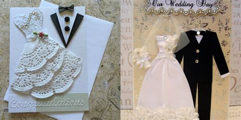 how to make handmade wedding cards awesome handmade wedding invitations in unique styles