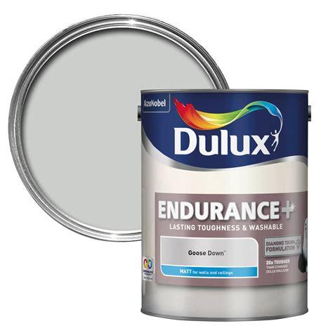 chalk white paint dulux dulux endurance goose matt wall ceiling paint 5l