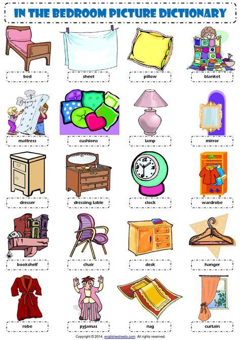 bedroom furniture vocabulary bedroom furniture vocabulary vocabulary bedroom esl efl