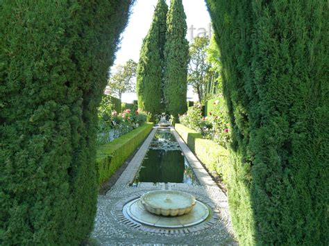jardines del generalife granada 118 alhambra jardines del generalife portal